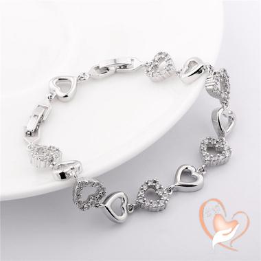 91-au coeur des arts-bracelet-plaque-argent-coeur