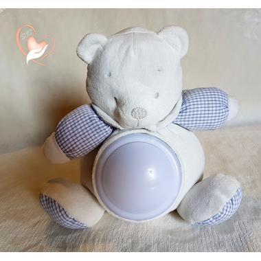 4B-au coeur des arts-Veilleuse enfant ours en peluche