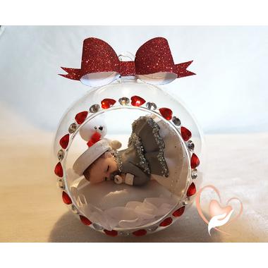 BV17-au coeur des arts-Enfant-bébé fille et ours dans sa bulle