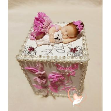 au coeur des arts-tirelire bebe fille