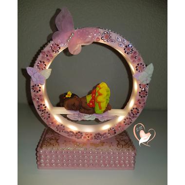 7-au coeur des arts-Veilleuse arche musical bebe fille