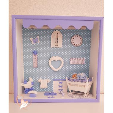 VCV22C-au-coeur-des-arts-vitrine naissance veilleuse