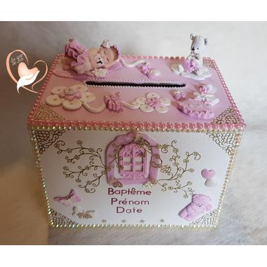 7UB-au coeur des arts- urne bapteme bebe fille