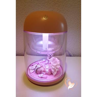 11-Humidificateur lumineux bébé fille - au coeur des arts