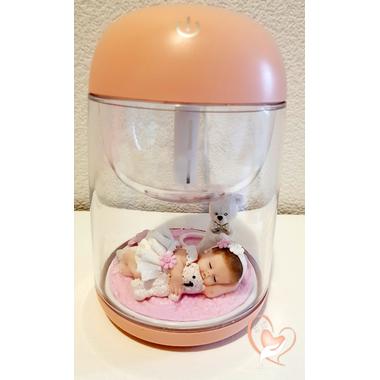 13-Veilleuse Humidificateur lumineux bébé fille - au coeur des arts