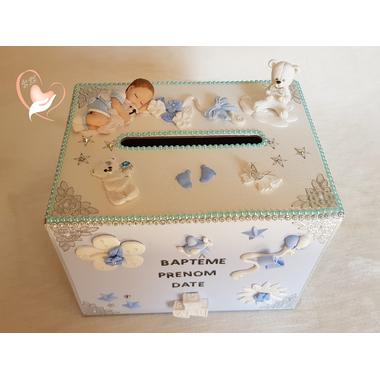 U13B-au coeur des arts- urne bapteme bebe fille