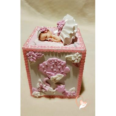 T57B-Tirelire bebe fille-au coeur des arts