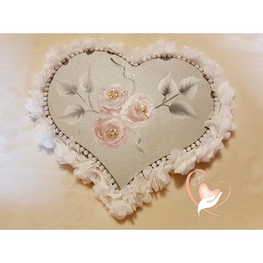 3CC-Plaque de porte coeur - au cœur des arts