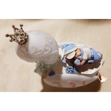 8CVB-Veilleuse en forme de cygne bébé garçon - au cœur des arts