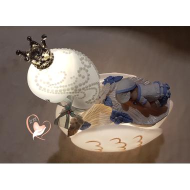 9CV-Veilleuse en forme de cygne bébé garçon - au cœur des arts