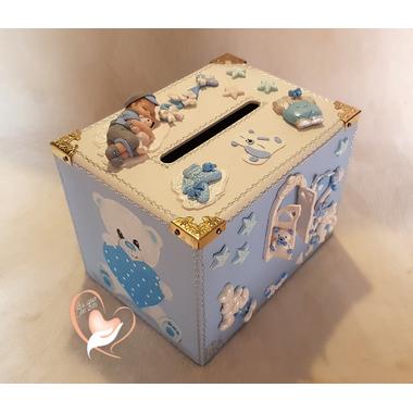 U53-au-coeur-des-arts-Urne bapteme bébé garcon