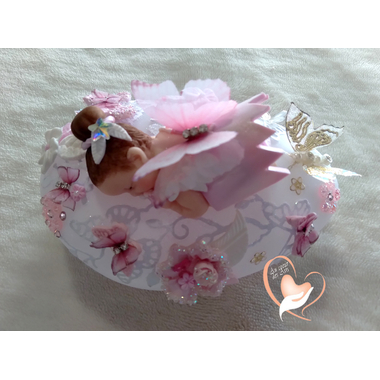 VG134A-au coeur des arts-Veilleuse galet lumineux bebe fille