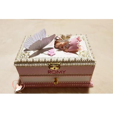 BM47B-au-coeur-des-arts-Boite à musique bébé fille fée clochette