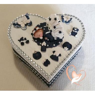 Boîte de naissance bleue marine - au coeur des arts2
