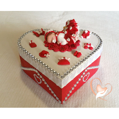 Boîte de naissance chaperon rouge - au coeur des arts
