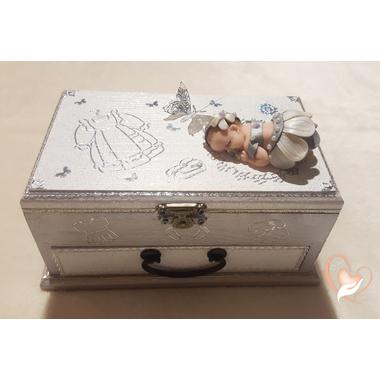 9-Boîte à trésors bébé fille - au coeur des arts