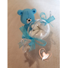 Bonbonnière ou boîte à dragées petit ours - au coeur des arts