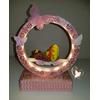 Veilleuse arche lumineuse musicale bebe fille - au cœur des arts