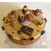Boîte à gâteaux chocolat café