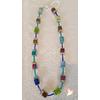Collier perles Polaris bleu argent