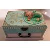 Boîte à musique bébé sirène verte - au cœur des arts