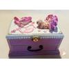 Boîte à musique rose bébé fille ballerine - au coeur des arts