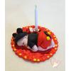 Porte bougie anniversaire bébé garçon Mickey - au coeur des arts