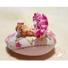 Veilleuse galet lumineux bébé fille Ballerine - au coeur des arts