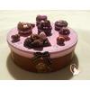 Boîte à biscuits ou chocolats Rose et chocolat - au coeur des arts