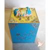 Tirelire bébé garçon bleu et jaune -  au coeur des arts