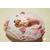 71B-GMVeilleuse galet lumineux sirène bebe fille - au coeur des arts