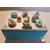 8-Boîte à sucre ou à biscuits bleue et blanche - au coeur des arts