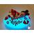 74C- au coeur des arts - Veilleuse galet lumineux bebe fille