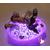 76D- au coeur des arts - Veilleuse galet lumineux bebe fille