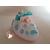 88b-au coeur des arts-Veilleuse galet lumineux bebe fille bleu