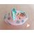 88c-au coeur des arts-Veilleuse galet lumineux bebe fille bleu