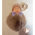 1-au coeur des arts - Bebe- porte-cles-pompon