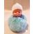 6-au coeur des arts - Bébé porte cles pompon