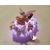 91C-au coeur des arts-Veilleuse galet lumineux bebe fille fee clochette