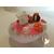 92C-au coeur des arts-Veilleuse galet lumineux bebe fille tahitienne