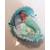 11B-au coeur des arts-Veilleuse couffin lumineux bebe sirene fille