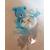 4-au coeur des arts-bonbonniere-boite a dragees-ours bleu