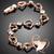 86Cau coeur des arts-bracelet-plaque-or-coeur