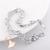 109 - au coeur des arts -bracelet plaqué argent fleur