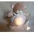 3E-au coeur des arts-Veilleuse enfant ours en peluche