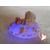 99b-au coeur des arts-Veilleuse galet lumineux bebe fille