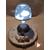 106B-au coeur des arts-Veilleuse lampe lumineuse sur socle en bois bebe garçon