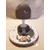 106C-au coeur des arts-Veilleuse lampe lumineuse sur socle en bois bebe garçon