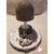 108B-au coeur des arts-Veilleuse lampe lumineuse sur socle en bois bebe garçon