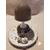 109-Veilleuse lampe lumineuse sur socle en bois bebe garçon - au coeur des arts